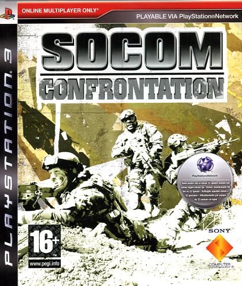 711719722458 SOCOM Confrontation (jeu seul) FR PS3