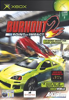 3455194031427 BurnOut II 2 Point Of Impact FR Xbox