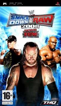 4005209098878 WWE SMACKDOWN vs RAW 2008