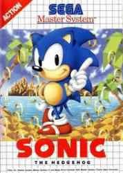 4974365634766 Sonic The Hedgehog Sega Master System FR MS