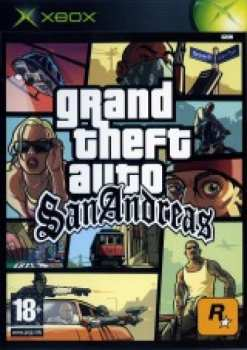 5026555242158 GTA - Grand Theft Auto San Andreas FR/STFR XBOX