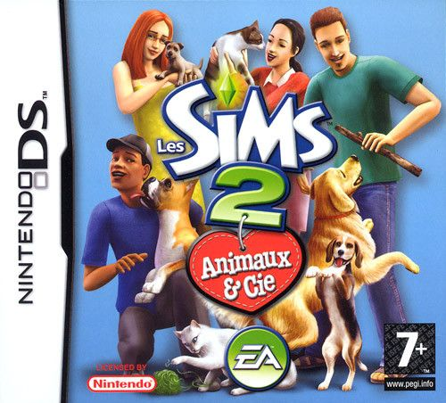 5030931051784 Les Sims 2 Animaux & Cie The Sims 2 Pets FR NDS