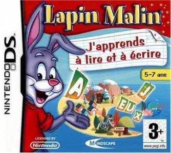 5390102491796 Lapin Malin DS J'apprends A Lire Et Ecrire FR NDS
