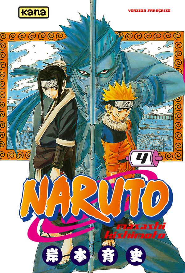 9782871294412 Manga Naruto Tome 4 - Kana -
