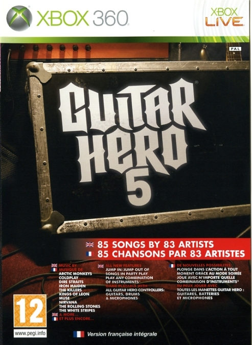 5030917072123 Guitar Hero 5 FR X36