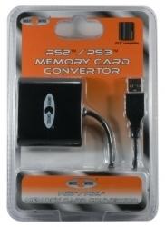 3700372700788 daptateur De Carte Memoire PS1 PS2/ PS3