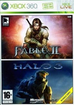2000020000729 Fable 2 / Halo 3 FR X36
