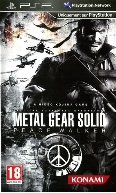 4012927064467 Metal Gear Solid Peace Walker FR/STFR PSP