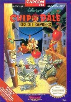 13388110209 Rangers du Risque Chip'n Dale NES