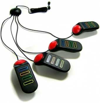 2000020000767 Buzzers PS2 avec fils