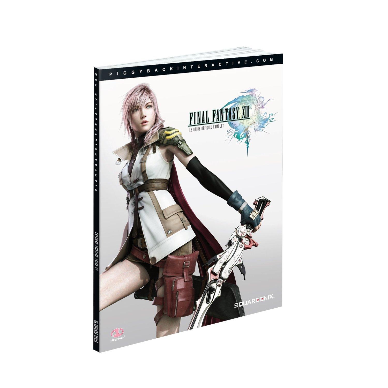 9781906064600 Guide Officiel Final Fantasy XIII 13 FR
