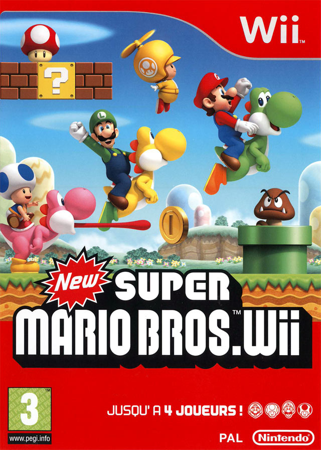 45496368104 ew Super Mario Bros Wii FR WII