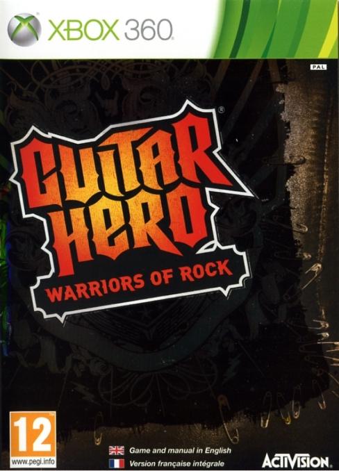 5030917088063 Guitar Hero Warriors of Rock FR X36