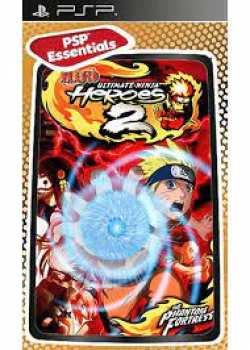 3700577001550 aruto Ultimate Ninja Heroes 2 Essentials FR PSP