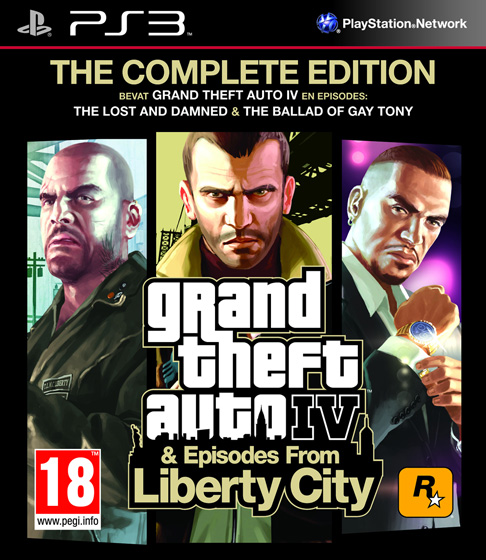 5026555405690 GTA 4 Grand Theft Auto IV Complete Edition FR PS3