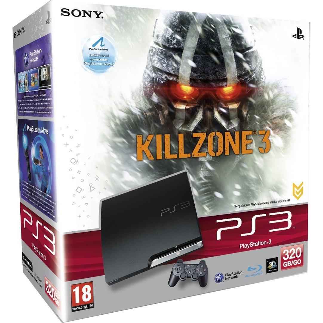 711719169086 Console Playstation PS3 320 GB + Killzone 3 III FR PS3