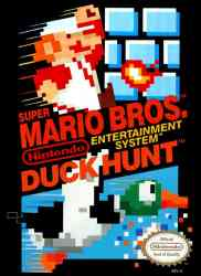 2355100868 Super Mario Bros Duck Hunt FR NES