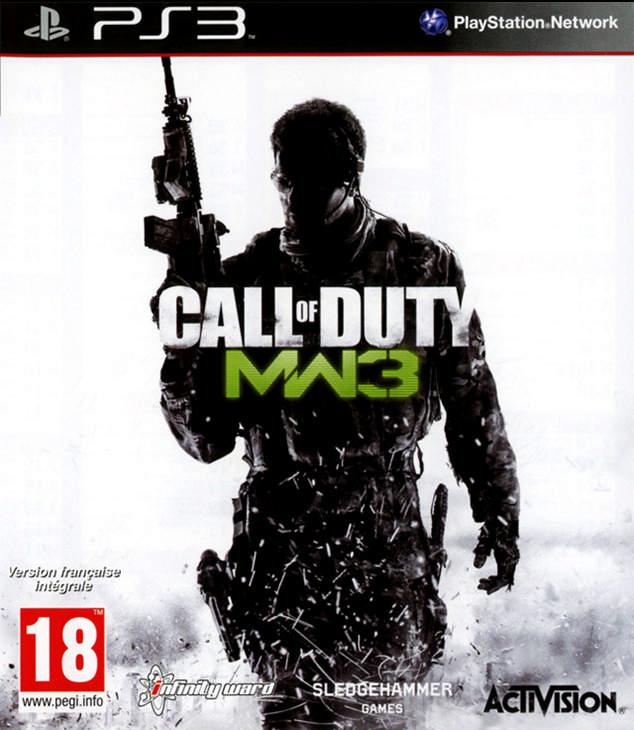 5030917096778 COD Call Of Duty 8 Modern Warfare 3 III FR PS3