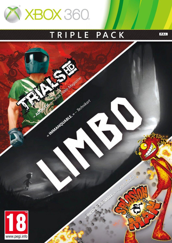 885370313055 Xbox Live Triple Pack Limbo /Trial HD/Splosion Man FR  X36