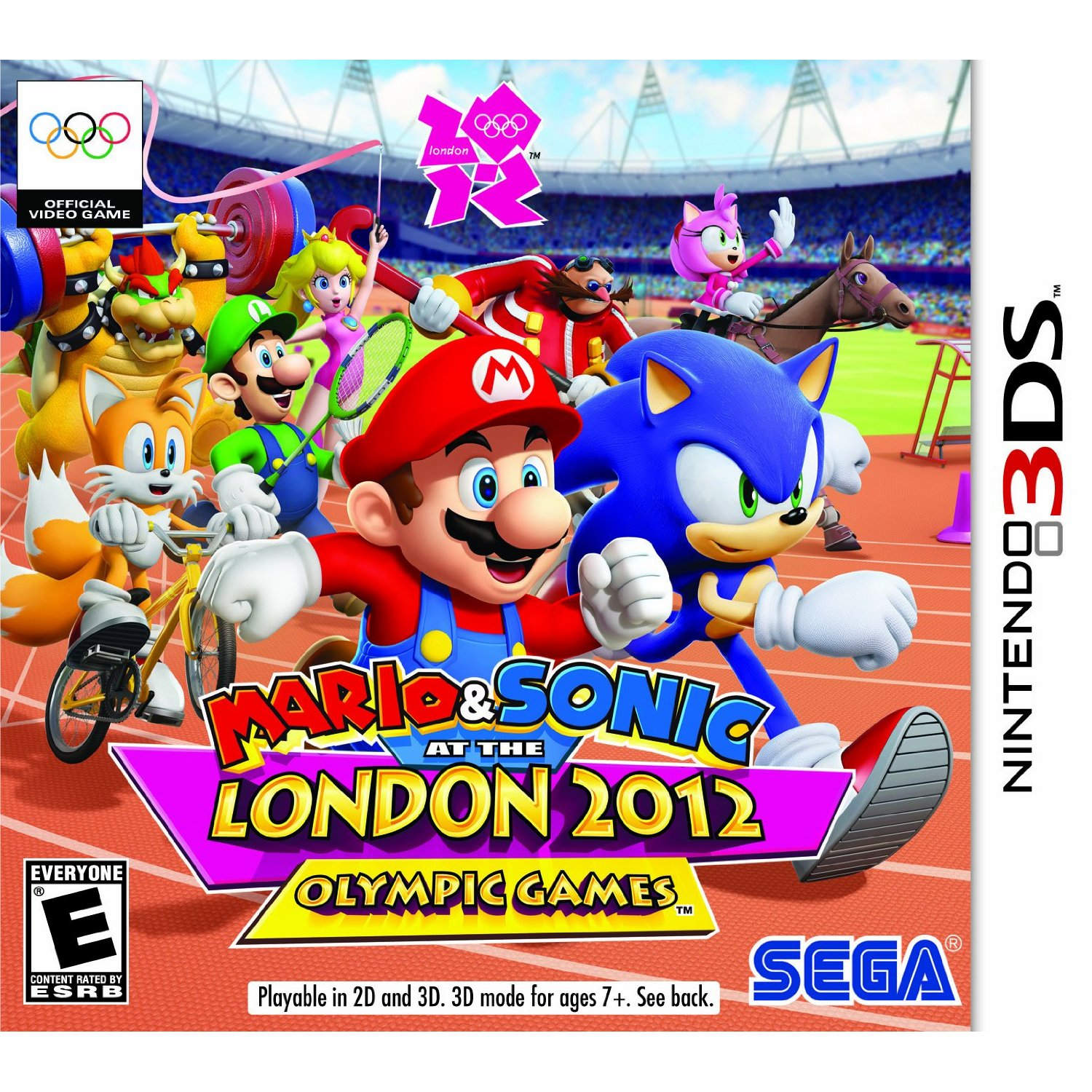 5055277013777 Mario & Sonic Summer Olympics Aux Jeux Olympiques Londres 2012  FR 3DS