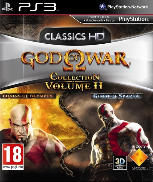 711719139294 God OF War Collection Volume 2 (Chains of olympus-Ghost sparta) FR PS3