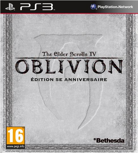 93155145061 lder Scrolls IV 4 Oblivion Anniversary Edition FR PS3