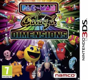 3391891955676 Pac Man And Galaga Dimensions FR 3DS