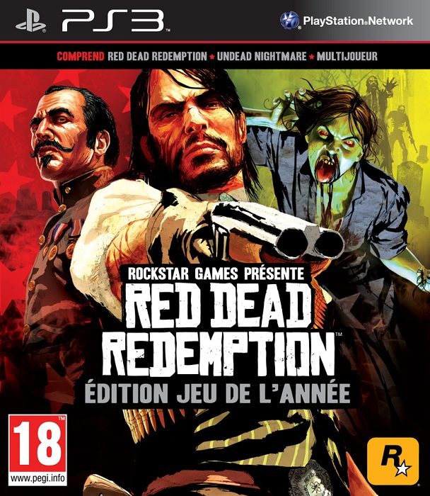5026555407472 Red Dead Redemption GOTY Game Of The Year FR/STFR PS3