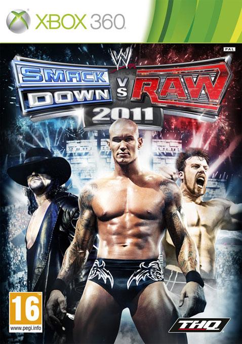 4005209137133 WWE Smackdown vs Raw 2011 FR X36