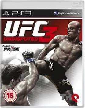 4005209156790 UFC Undisputed 2012 UFC 3 UK/FR PS3