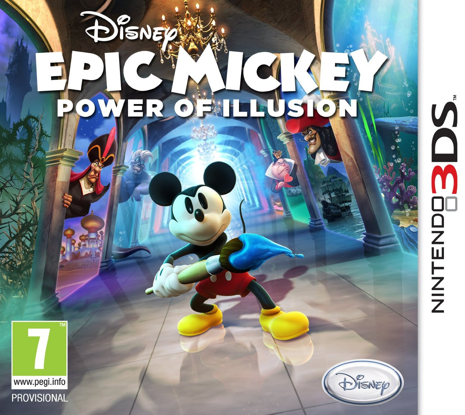 8717418377069 Disney S Epic Mickey II 2 Power Of Illusions 3D 3DS