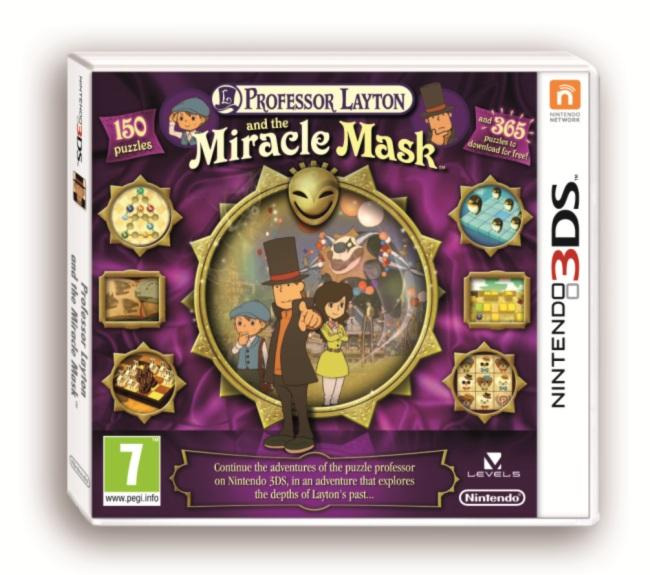 45496522636 Professeur Layton V 5  Et Le Masque Des Miracles FR 3DS