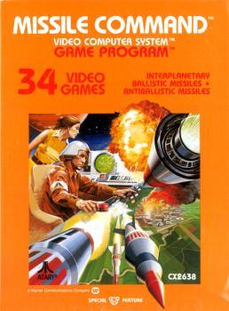 2375102086 Missile Command Cartouche Atari VCS 26