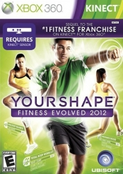 3307215674727 Your Shape Fintness Evolved 2012 Kinect FR X36