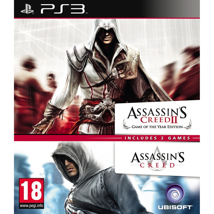 3307215624449 ssassin S Creed Double Pack 1 & 2 FR PS3