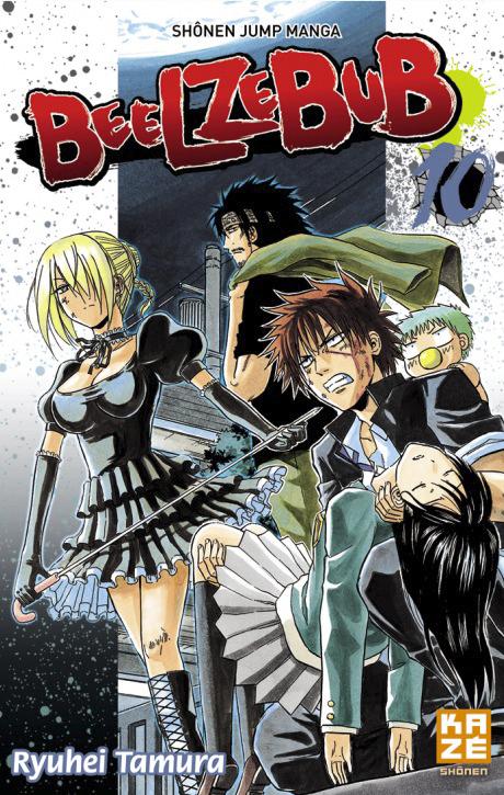 9782820305046 Manga Beelzebub Vol 10 BD