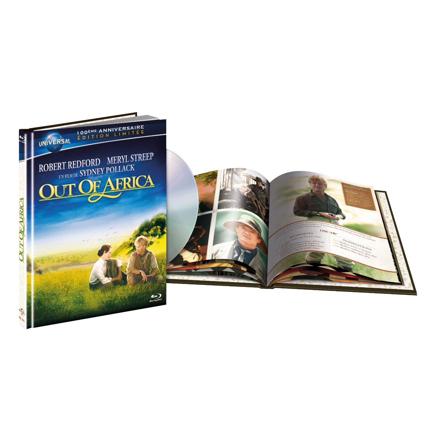 5050582894783 Out Of Africa Souvenirs D Afgrique (meryl Streep Robert Redford) BR