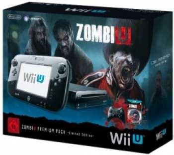 45496311117 Console Nintendo WiiU Noire Pack ZombiU 32GB