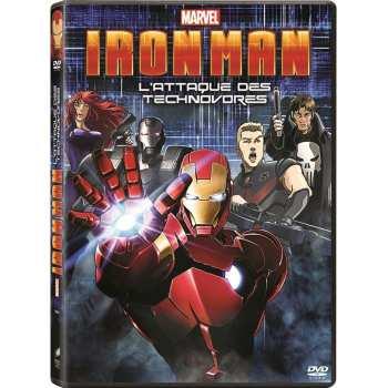 3333297855471 Iron Man L Attaque Des Technovores DVD
