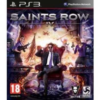 4020628513993 Saint S Row IV 4 FR PS3