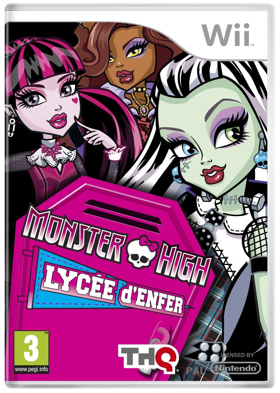 5510100060 Monster High Lycee D Enfer FR Wii