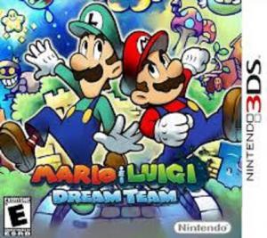 45496523961 Mario Et & And Luigi Dream Team Bros UK/FR 3D