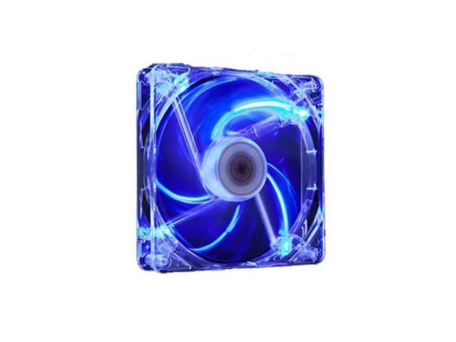 4712477311232 Ventilateur Boitier Crystal Blue LED 140X140X25 Xigmatek
