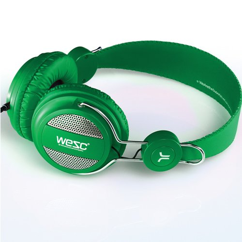 7332577596536 Casque Wesc Stereo Oboe Green Wesc