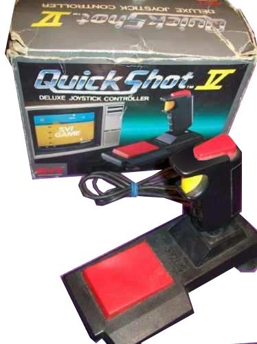 5510100256 Manette Joystick Retro DB9 Quickshot V (MSX, Commodore, Atari)