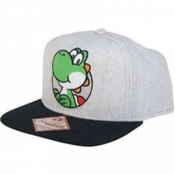 8718526012248 Casquette Grise Yoshi Nintendo (µgrey Yoshi Snap Back Cap)