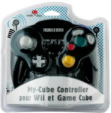 3760178620307 Controller Manette Nintendo Gamecube Compatible Wii Freaks and Geeks NGC