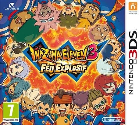 45496524050 Inazuma Eleven 3 Feu Explosif (Bomb Blast) FR 3DS