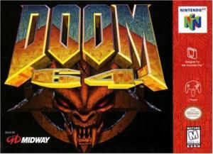 5510100489 Doom 64 N64