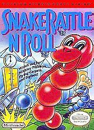 45496630591 Snake Rattle N Roll NES